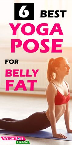 6 Best Yoga Pose for Stubborn Belly Fat. #bellyfatburner #flattummydrinks #losebellyfat #losebellyfat #healthandfitness #healthylife