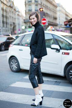 Alana looking brilliant. #offduty in Paris.  #AlanaZimmer