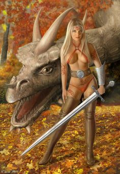 ☆ Walking with Dragons :¦: By Artist Al Serov ☆