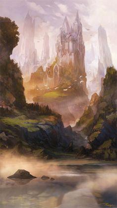 fantasy_landscape_2013 by Taegaconcept