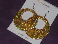 NEW Glitzy Earrings on -SALE- 4.99 Free and Fast Shipping $4.99