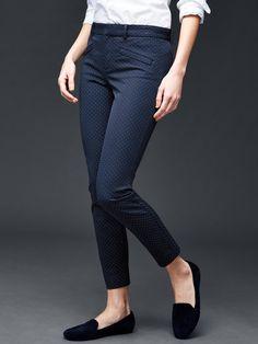 Bi-stretch skinny ankle pants | Gap