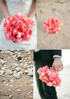 Watermelon color inspiration for #wedding flowers. The color really pops beautifully right?
