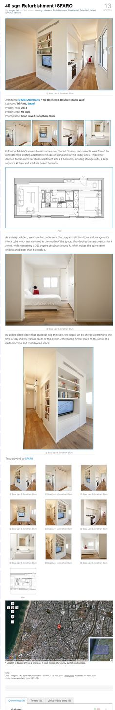 Small space design, its all in one!