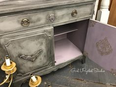 """""""Oh sweet Josephine"""" go check out my latest blog """"why being a furniture painter is so much bigger than ourselves"""" you will love this true story #girlupcycled#furnitureflip #upcycledfurniture #paintedfurniture #zanesvilleohio #diypaint #iodmoulds #primamarketing"""