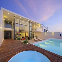 White Amazing House With Swimming Pool HD Wallpaper,Amazing House,Amazing Home,Amazing House Architecture,Amazing House In Amazing Place Architecture Design, Beautiful Architecture, Moderne Pools, Modern Mansion, Outdoor Pool, Wonderful Places, Luxury Homes, Luxury Mansions, Beautiful Homes