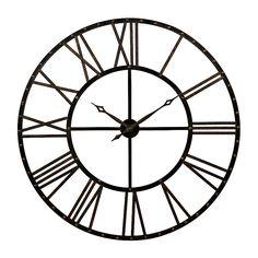 Addison Open Face Clock   Kirklands