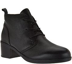 Clarks Leather or Suede Lace-up Ankle Boots - Nevella Harper