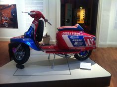 MOD in the Northampton shoe museum