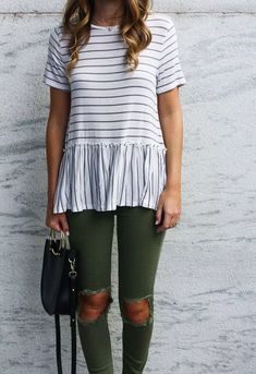 Casual Fall Outfits That Will Make You Look Cool – Fashion, Home decorating Preppy Summer Outfits, Spring Outfits, Casual Outfits, Fashion Outfits, Casual Clothes, Womens Fashion, Casual Fashion Style, Winter Outfits, Hijab Casual