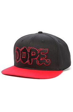 3d958bbcb40 The Smoke Me Snapback in Black and Red