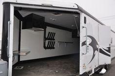 Enclosed Snowmobile Trailer Door