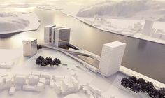 Keelung New Harbor Service Building Competition Entry / ACDF Architecture,Courtesy of ACDF Architecture
