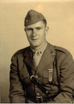 Captain Andrew Haldane - Commander of K/3/5 American History Tragedies and Triumphs World War II Visual Arts