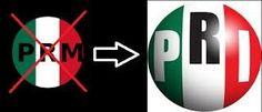 En 1946 se consolida el PRI como eje de poder político por encima de la autoridad sexenal del presidente en turno de la república. Los tres poderes estaban interrelacionados: la Constitución era el programa de gobierno del PRI a través de un Estado que reproducía en su estructura la misma del partido.