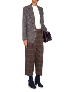 Reims British Shetland tweed jacket | Acne Studios | MATCHESFASHION.COM US