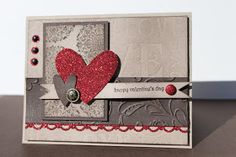 Just Julie B's Stampin' Space: Valentine with Lots of Texture!