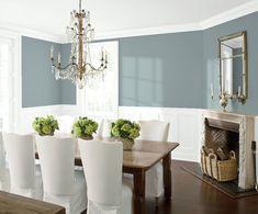 Dining Room 2 | Benjamin Moore Cloudy Sky