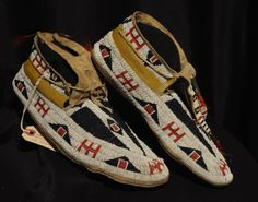 Moccasins and Plains Beaded Items