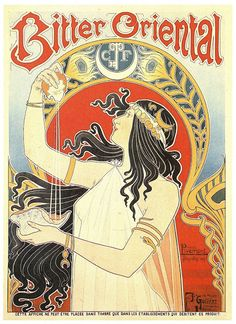 View Bitter Oriental by Henri Privat-Livemont on artnet. Browse upcoming and past auction lots by Henri Privat-Livemont. Kunst Poster, Poster Art, Poster Prints, Art Prints, Art Vintage, Vintage Ads, Vintage Posters, Vintage Food, Vintage Coffee