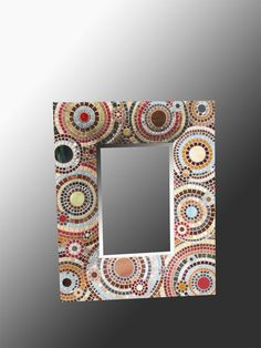 Cafe Spiral Mosaic Mirror by olveradesign on Etsy, $350.00