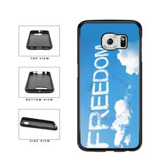 BleuReign(TM) Freedom in Clouds on Sky Background TPU RUBBER SILICONE Phone Case Back Cover For Samsung Galaxy S7. COMPATIBILITY: It is important to note that this case will ONLY FIT the Samsung Galaxy S7 Smartphone. Case will fit like a glove. COLOR: This case comes in a high quality color that will last the life of your phone. This is NOT a decal, skin or sticker. Our cases will not peel, fade or crack. We press the image onto a metal plate using the latest sublimation technology....