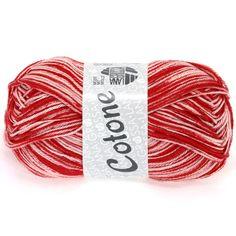 COTONE print 404-Red / White | EAN: 4033493151559