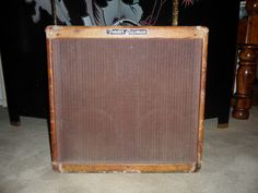 Vintage Fender Bassman.