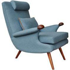 Helmut Krutz Teak Lounge Chair