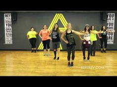 "This is one of my absolute favorites! ""Love Me Right"" by Swag Geeks REFIT® Revolution Zumba Workout Videos, Zumba Videos, Youtube Workout, Fun Workouts, Dance Workouts, Exercise Videos, Dance Moves, Step Workout, Workout Log"