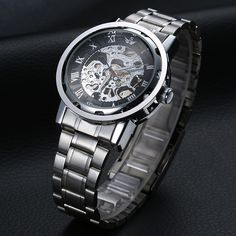 We love it and we know you also love it as well SEWOR Brand Luxury Watch Men Gold Stainless Mechanical Automatic Watch Skeleton Steel Dress WristWatch Men Fashion Sport Watch just only $10.99 - 11.29 with free shipping worldwide  #menwatches Plese click on picture to see our special price for you