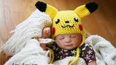 Parents geeks : bébé Pikachu