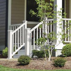 Best Outdoor Stair Railing Vinyl Pvc Railing Installation 640 x 480