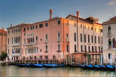 Ca'Sagredo on the Grand Canal, Venice.