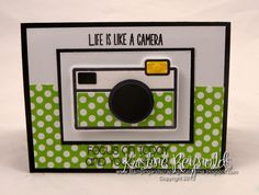 #TSOL #The Stamps of Life #Kristine Reynolds #Camera Card