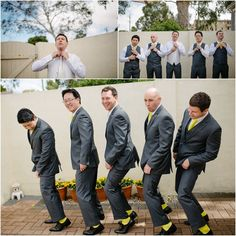 groom and groomsmen preparation yellow details (www.objektiv.com.au)