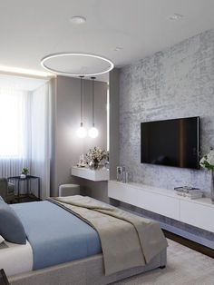 Modern Luxury Bedroom, Master Bedroom Interior, Apartment Bedroom Decor, Stylish Bedroom, Luxurious Bedrooms, Home Bedroom, Cute Bedroom Decor, Bedroom Wall Designs, Home Room Design