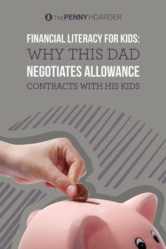 When it comes to teaching financial literacy for kids, many parents believe an allowance is a great tool. This dad takes it a step further by negotiating allowance contracts with his daughters. /thepennyhoarder/