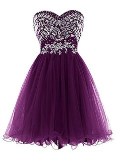 Cheap a line prom dress, Buy Quality prom dresses directly from China prom dress a line Suppliers: Sexy Sweetheart Beaded Crystals Short Mini A Line Prom Dresses Organza Party Gowns Vestido De Festa Robe De Soiree Semi Dresses, Cute Prom Dresses, Dresses Short, Sweet 16 Dresses, Grad Dresses, Homecoming Dresses, Pretty Dresses, Beautiful Dresses, Formal Dresses