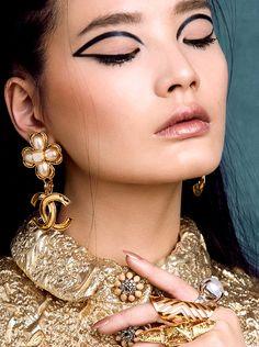 "she-loves-fashion: ""Lara Jade Tatler Beauty """