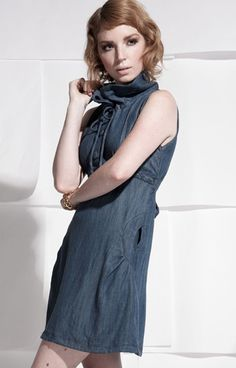 Oreon Dress in Tencel by #Ecocentrik Apparel