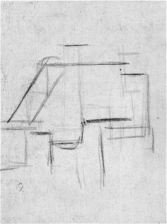 Composition (The Cow), 1917