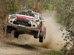 Citroën-rijder Hirvonen in rally Australia weer op podium Rally Car, Racing, Ds, Australia, France, Rally, Running, Auto Racing, French