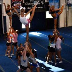 Cheer extreme practice!