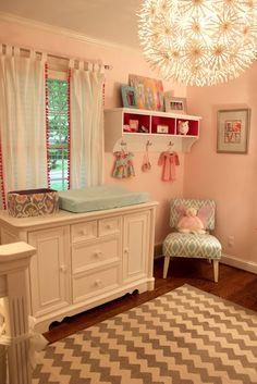eclectic baby girl nursery via Kansas City Fashion Blog | Melanie Knopke