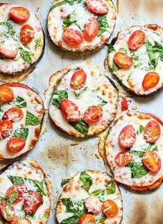 Eggplant pizza is a healthy alternative! #eggplant #pizza #recipe