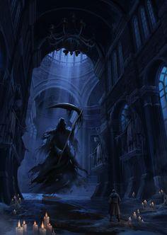 ArtStation - Devil of dungeon, Summer Kim