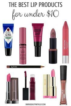 Best Lipsticks UNDER