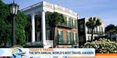 "Travel+Leisure magazine names Charleston ""Top City in the U.S. & Canada!"""