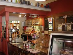 It's the Jitterbug Coffee House in Heber Springs, Arkansas. A wonderful little shop, where you would least expect it!